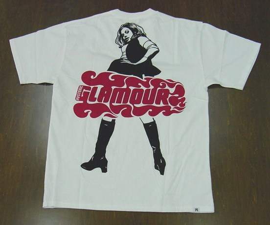 HYSTERIC GLAMOUR ヒステリックグラマー VIXEN GIRL オーバーサイズ Tシャツ 02202CT17