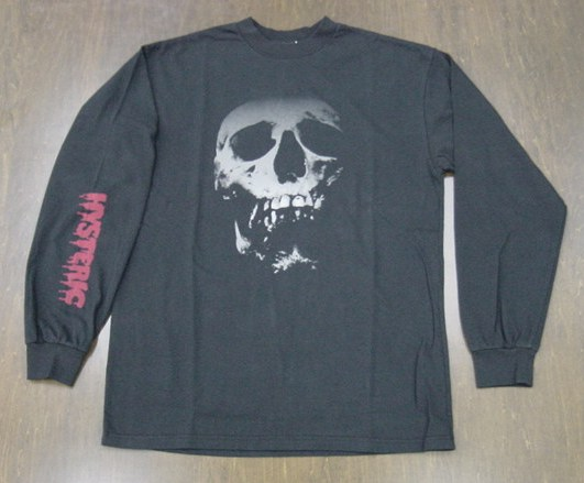 HYSTERIC GLAMOUR ヒステリックグラマー SKULL BERRY ロングTシャツ 02203CL15