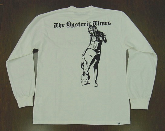 HYSTERIC GLAMOUR ヒステリックグラマー HYS TIMES ロングTシャツ 02203CL16