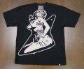 HYSTERIC GLAMOUR ヒステリックグラマーギターガール オーバーサイズ Tシャツ 02203CT15