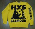 HYSTERIC GLAMOUR ヒステリックグラマー 2021年・春夏新作 MAKE ME SMILE 編込プルオーバー 02211NS01