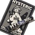 【6月26日入荷予定】 HYSTERIC GLAMOUR ヒステリックグラマー 2018年・春夏新作 CR/CR PATCH RIDERS ライダースJK 02182AB06