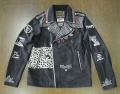 HYSTERIC GLAMOUR ヒステリックグラマー CR/CR PATCH RIDERS ライダースJK 02182AB06