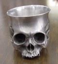 髑髏ぐい呑み Skull-shot glass-1  BURDEN OF PROOF BOFP-196