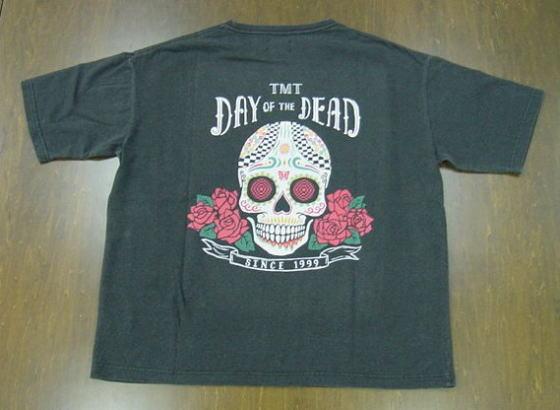 TMT ティーエムティー DAY OF THE DEAD ビッグサイズTシャツ TCS-S20SP15