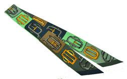 ≪新品≫箱リボンのラッピング エルメス スカーフ ツイリー 《BOUCLERIE D ATTELAGE》 ヴェール/マリン