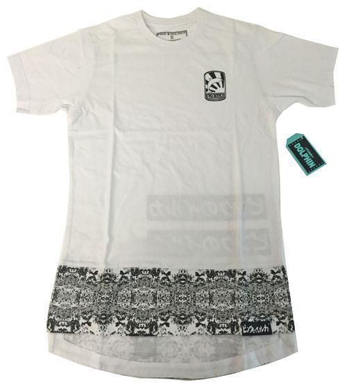 新品LA本店購入PINKDOLPHINロゴTシャツ白SサイズFOREIGNCOINTEEWHITE