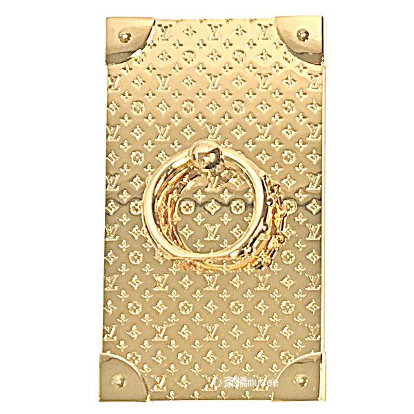 ≪新品≫ ルイヴィトン フォンリング・トランク M63145 ゴールド LOUISVUITTON Phone Ring