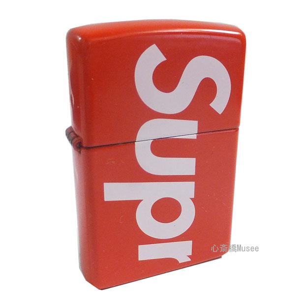 ≪新品≫18SS Supreme Logo Zippo シュプリーム ロゴ ジッポ レッド 赤 RED