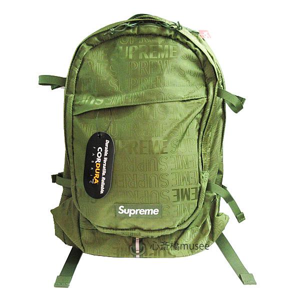 ≪新品≫ Supreme 19ss SUPREME Backpack Cordura OLIVEシュプリーム バックパック リュックサック 新作 オリーブ