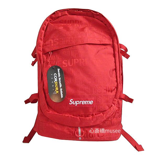 ≪新品≫ Supreme 19ss SUPREME Backpack Cordura Red シュプリーム バックパック リュックサック 新作 レッド 赤