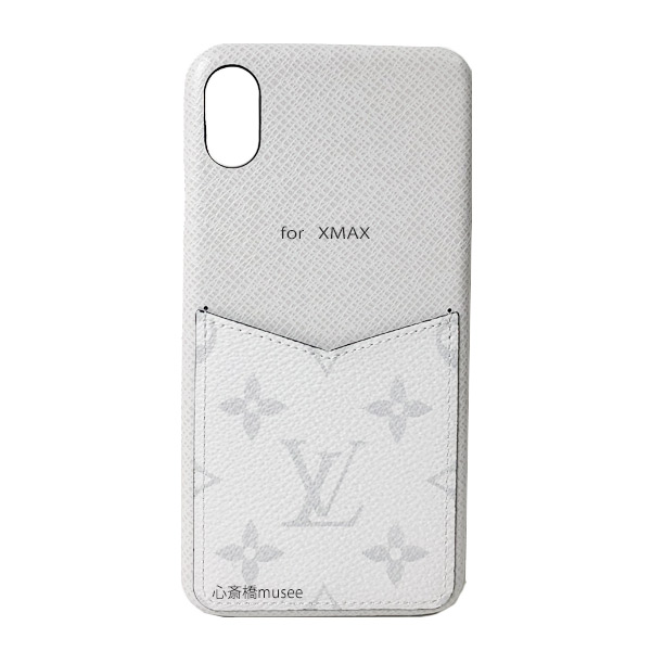 ≪新品≫ルイヴィトン バンパー iphone XS MAX 10S MAX XMAX バンパー タイガラマ ブロン M30277 スマホ 携帯ケース アクセサリー モバイル 白 LOUISVUITTON ビトン