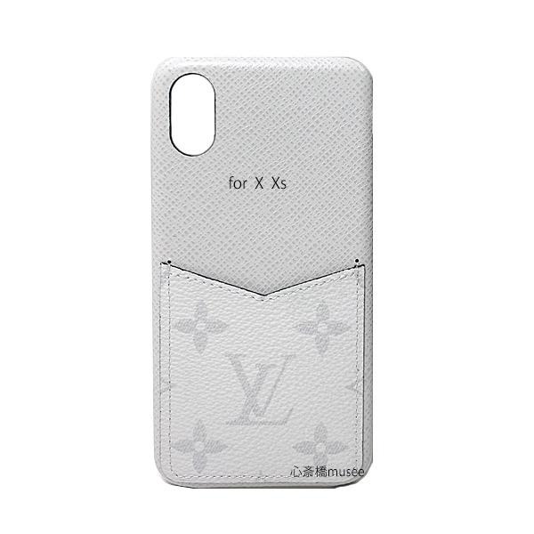 ≪新品≫ルイヴィトン iphone X Xs 10 10S バンパー タイガラマ ブロン スマホ 携帯ケース アクセサリー モバイル M67681 白 ホワイト アンタークティカ  LOUISVUITTON ビトン アイフォン ケース