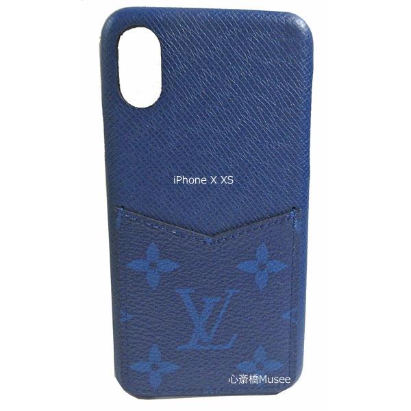 ≪新品≫ルイヴィトン iphone X Xs 10 10S バンパー タイガラマ  スマホ 携帯ケース アクセサリー モバイル コバルト ブルー スマホ M67680 アクセサリー モバイル LOUISVUITTON ビトン アイフォン ケース