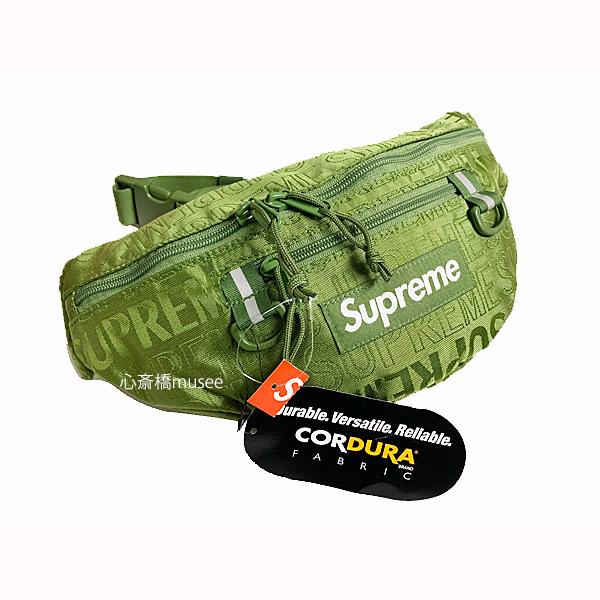 ≪新品≫ SUPREME 19SS Waist Bag Olive シュプリーム ウエストバッグ ボディバッグ オリーブ グリーン 緑