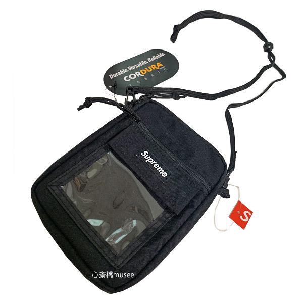 ≪新品≫ SUPREME 19SS Utility Pouch black シュプリーム ユーティリティー ポーチ 黒 ブラック