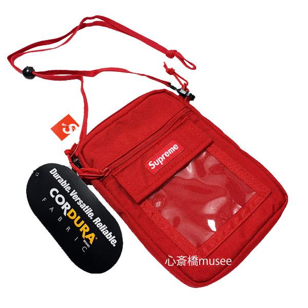 ≪新品≫ SUPREME 19SS Utility Pouch Red シュプリーム ユーティリティー ポーチ 赤 レッド