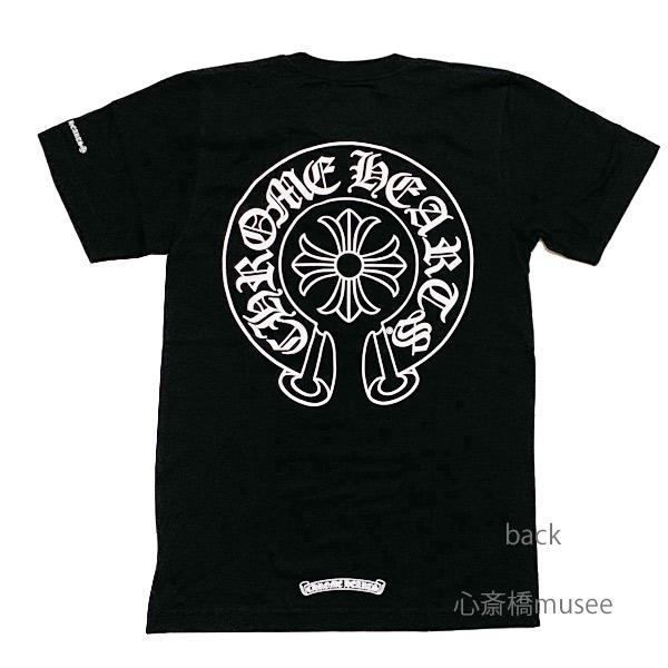 ≪新品≫正規品 クロムハーツ メンズ Tシャツ ブラック ホースシュー Lサイズ Chrome hearts