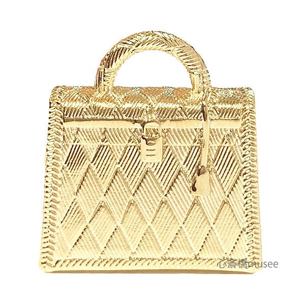《新品》エルメス ケリー キュリオジテ「KELLY CURIOSITE」チャーム ペンダントトップ ゴールド  HERMES 箱・リボンのラッピング  GOLD