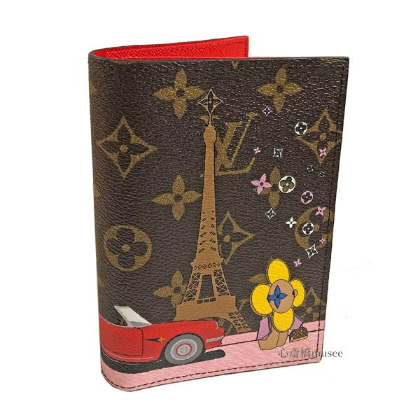 ≪新品≫ LOUIS VUITTON ルイヴィトン クーヴェルテュール パスポールNM パスポートケース カバー M68493 ヴィヴィエンヌ 日本限定 パスポート カード 箱 リボン ラッピング