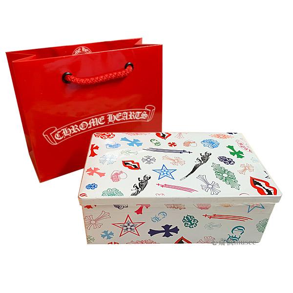 ≪新品≫ 未開封 クロムハーツ / ヨックモック クッキー缶 青山店20周年記念 ショッパー付き ギフトに