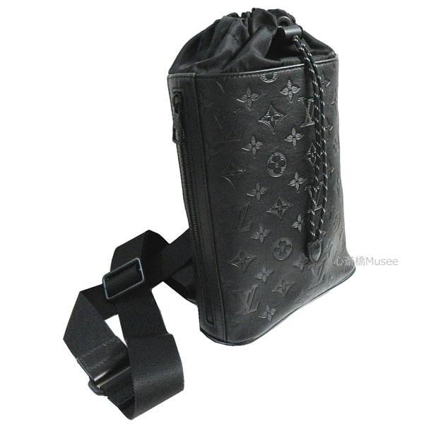 ≪新品≫LOUISVUITTON ルイヴィトン モノグラム シャドウ チョーク スリングバッグ ショルダーバッグ M44633 ブラック 黒 クロスバッグ