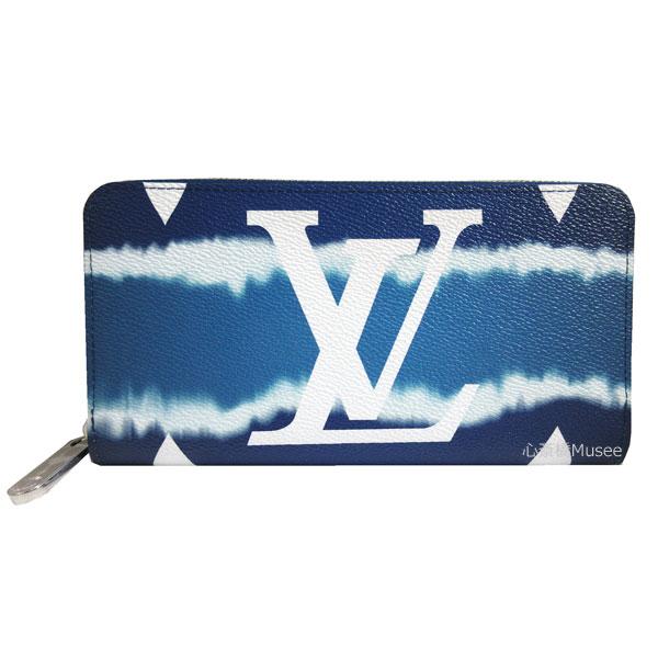 ≪新品≫LOUISVUITTON ルイヴィトン 2020年SS 限定 モノグラムエスカル ジッピー・ウォレット ブルー M68841 LV箱リボンのラッピング ラウンドファスナー 長財布