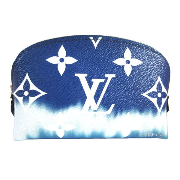≪新品≫LOUISVUITTON ルイヴィトン 2020年春夏コレクション モノグラム エスカル ポシェット コスメティック ポーチ ブルー M69138