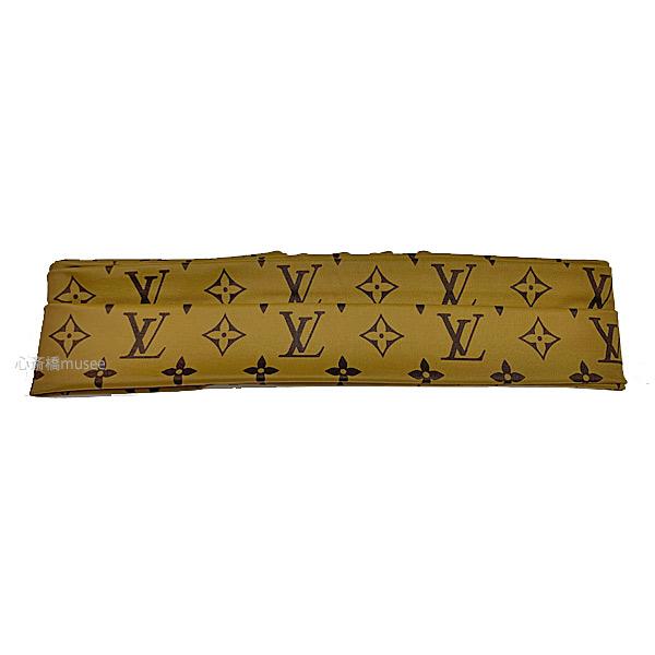 ≪新品≫ Louis Vuitton ルイヴィトン ヘッドバンド M76891 モノグラムリバース ヘアアクセサリー リボン LV ビトン ルイヴィトン 箱 リボン ラッピング