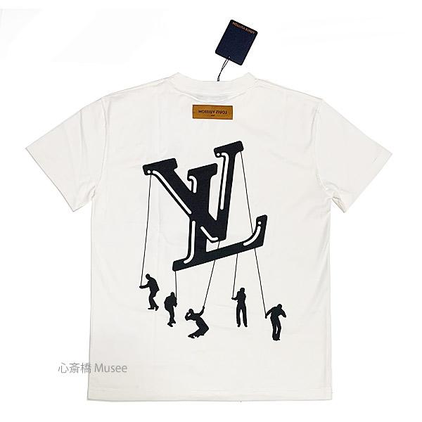 ≪新品≫ ルイ・ヴィトン メンズ Tシャツ フローティング LV プリンテッド Tシャツ MENS FLOATING LV PRINTED Tshirts  Sサイズ 1A8P8V 21メンズコレクションLouis Vuitton white ホワイト 白 新品 箱のラッピング