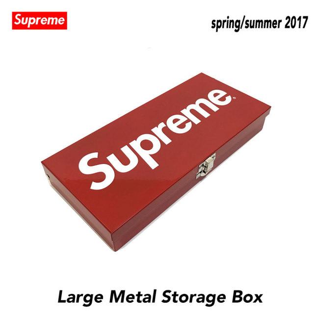 ≪新品≫17SSSUPREMESmallLargeStorageBoxボックス