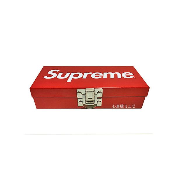 ≪新品≫17SSSUPREMEシュプリームSmallMetalStorageBoxボックス