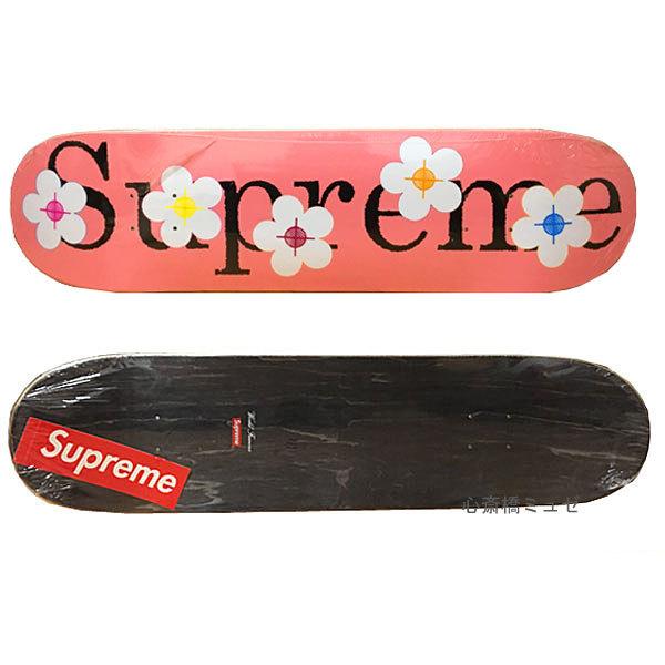 ≪新品≫SS17SUPREMEFLOWERSSkateboardDeckPINKシュプリームスケートボードデッキピンク