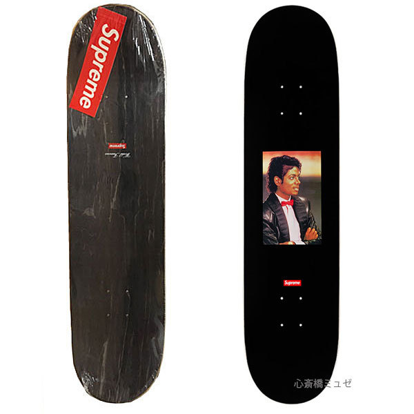 ≪新品≫17SSSUPREMESUPREMEMichaelJacksonSkateboardDeckBlackシュプリームスケートボードデッキブラック