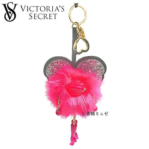 新品VictoriaSecretヴィクトリアシークレットエンジェルチャームキーリングピンク大人気!