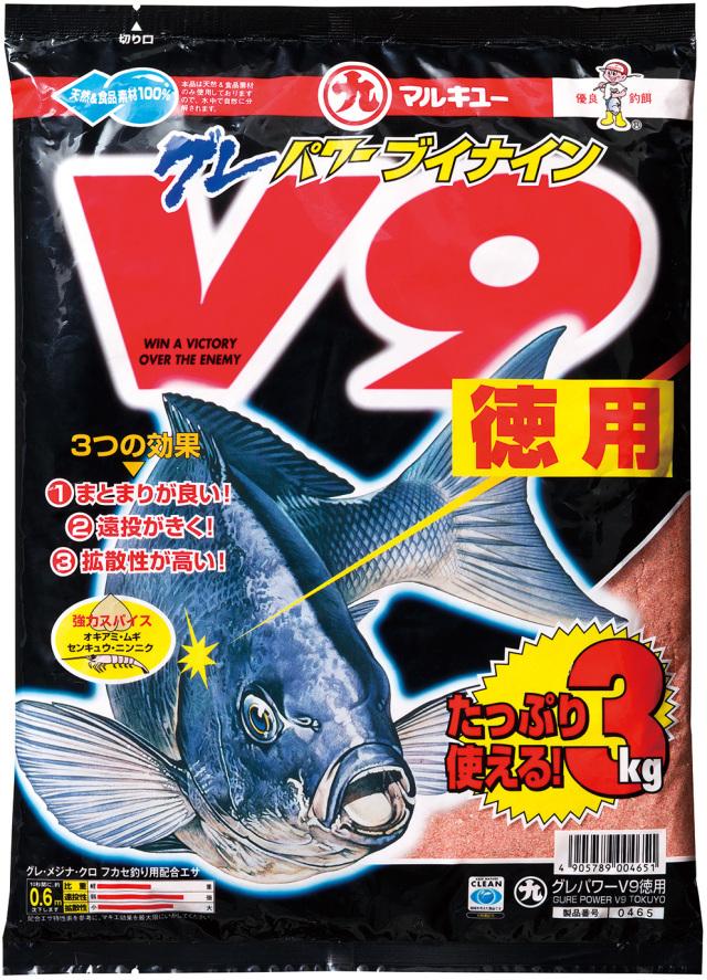マルキュー 配合エサ グレパワーV9(徳用)