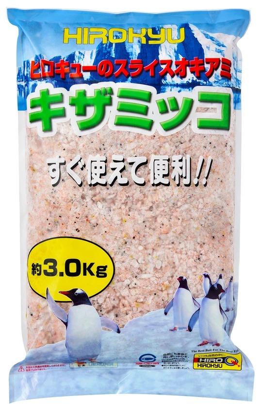 ヒロキュー 冷凍エサ スライスオキアミ キザミッコ