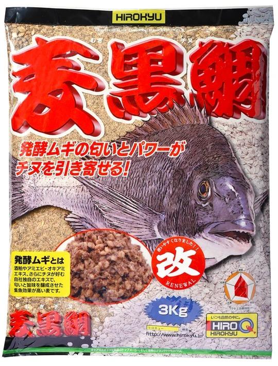 ヒロキュー 配合エサ 麦黒鯛