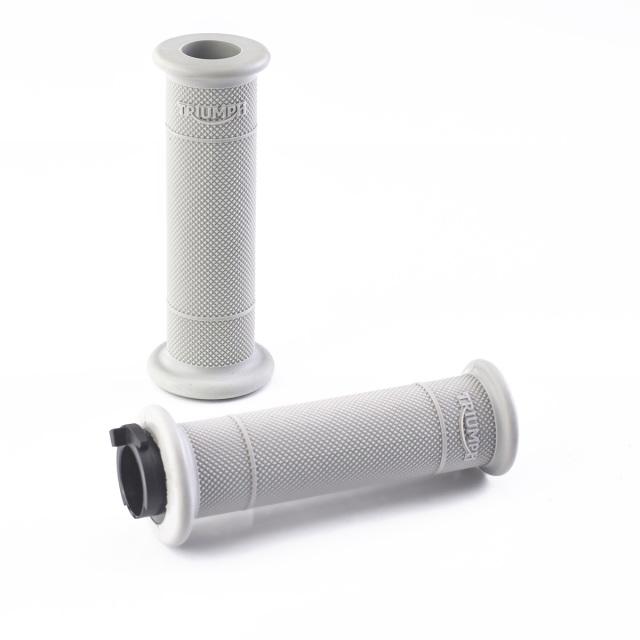 A2041477:ダイヤモンドローレット・グリップ 22.2mm (グレー)