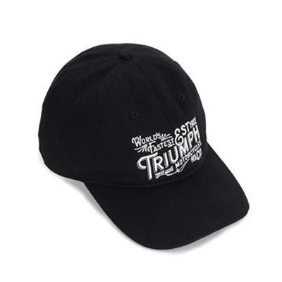 トライアンフオフィシャルキャップ:JAXLOGO CAP