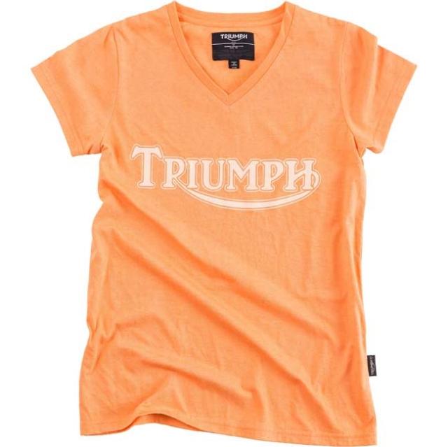 トライアンフレディースTシャツ:LDS CORAL LOGO T-SHIRT