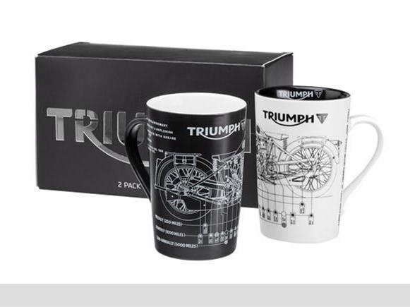 トライアンフマグカップ:2Pack New Shape Mug Set