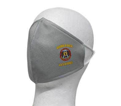 自衛隊グッズ 入間BXオリジナル 快適3層マスク  入間基地マーク 4色