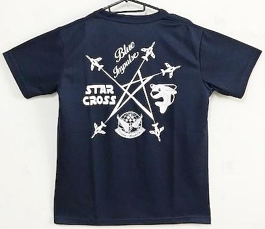自衛隊グッズ メンズTシャツ ブルーインパルス スタークロス