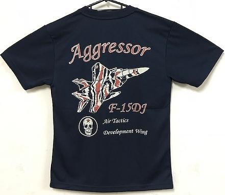 自衛隊グッズ メンズTシャツ AGRアグレッサーF−15DJ
