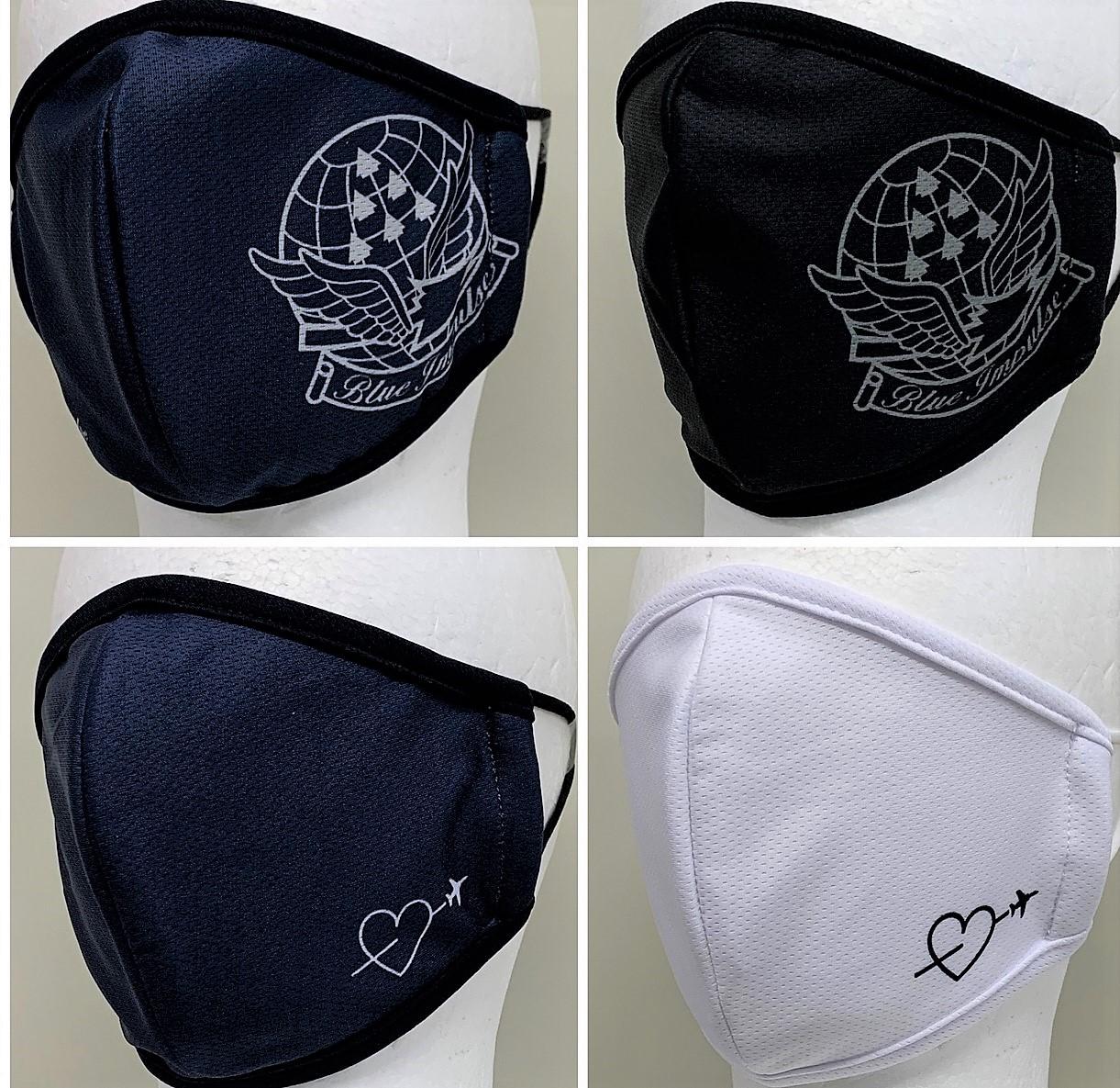 自衛隊グッズ ブルーインパルス・ファッションマスク 4種