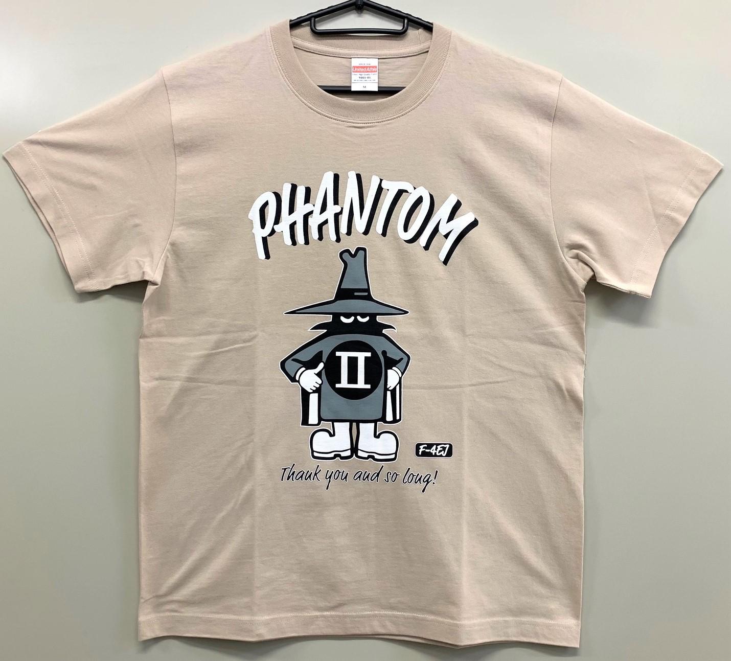 自衛隊グッズ  メンズTシャツ、ファントムスプーク綿100%