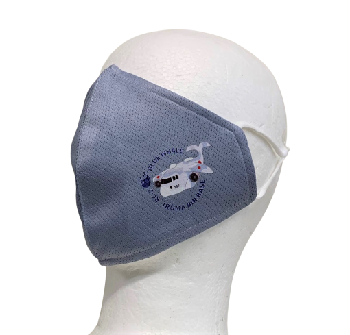 自衛隊グッズ 入間BXオリジナル 快適3層マスク ブルーホエールRC-2 3色