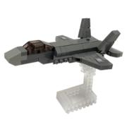 自衛隊グッズ ナノブロックF-35A カワダ