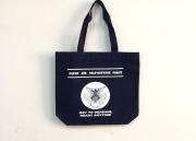 自衛隊グッズ 航空自衛隊徽章マーク入りキャンパストート